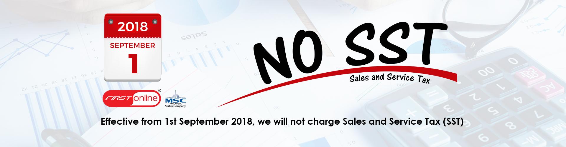 No SST Banner